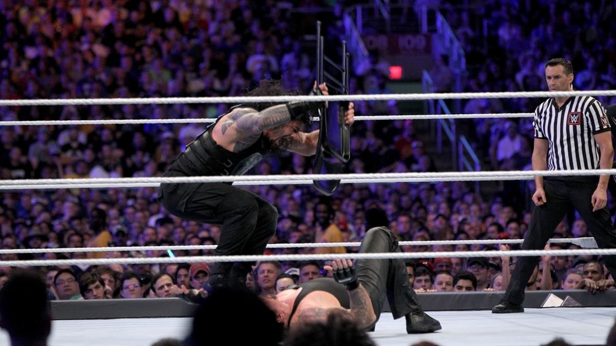 Roman Reigns vs The Undertaker at WWE Wrestlemania 33