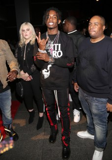 WEST HOLLYWOOD, CA - JUNE 24: Playboi Carti attends the IGA X BET Awards Party 2017 on June 24, 2017 in West Hollywood, California. (Photo by Jerritt Clark/Getty Images for Interscope Records)