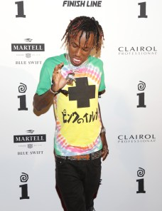 WEST HOLLYWOOD, CA - JUNE 24: Rich The Kid attends the IGA X BET Awards Party 2017 on June 24, 2017 in West Hollywood, California. (Photo by Jerritt Clark/Getty Images for Interscope Records)