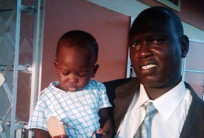 Le pasteur Yat Michael Ruot de l'Eglise évangélique presbytérienne du Soudan du Sud