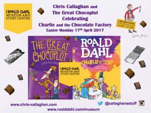 The Great Chocoplot, Chris Callaghan, Roald Dahl, Museum