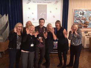 Northern Children's Book Festival, The Great Chocoplot, Chris Callaghan. Gateshead Libraries