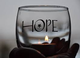 There must always be hope 1