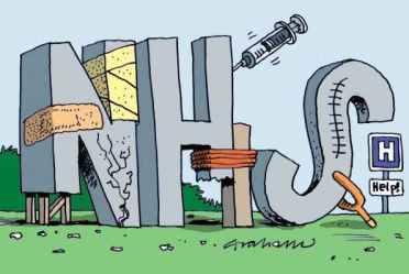 The NHS is broken