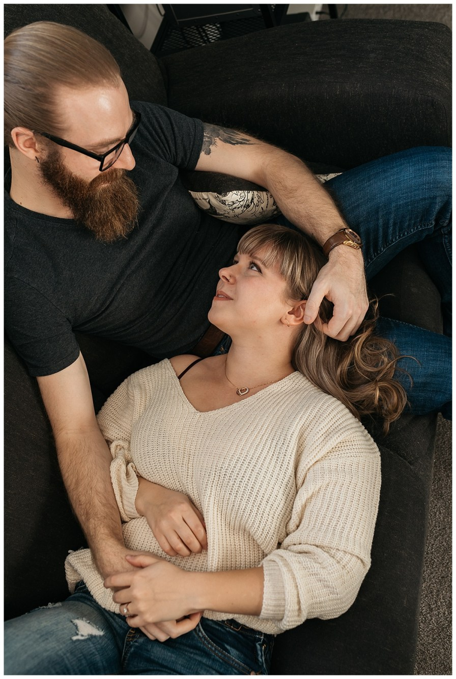 in home engagement session halifax nova scotia