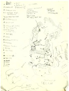 A map of fandelyon and surrounding kingdoms