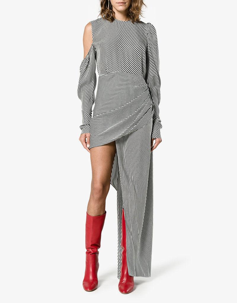 Holiday Sale Shopping Silk Dress