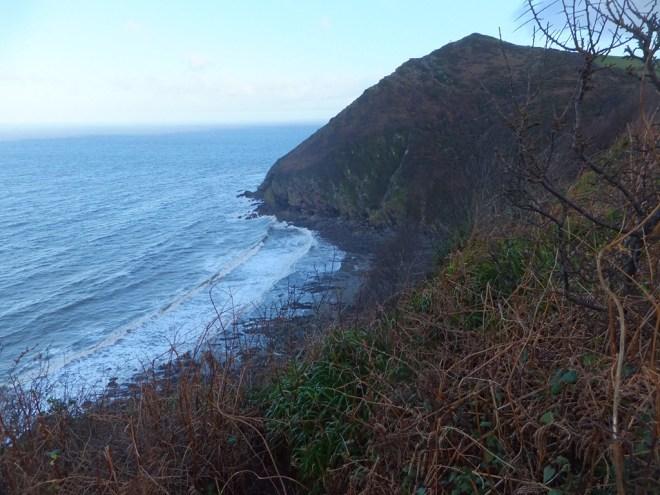 Wild Pear beach, below Little Hangman outside of Combe Martin, North Devon