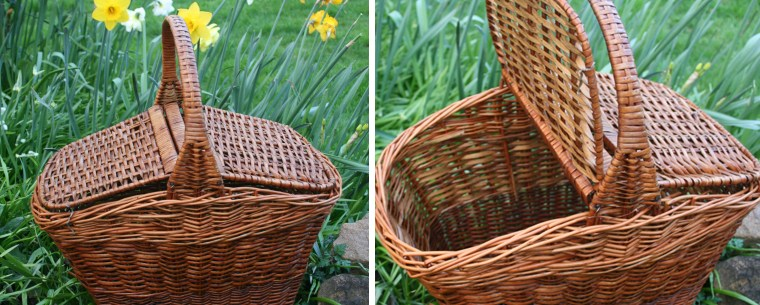 Food basket repaired