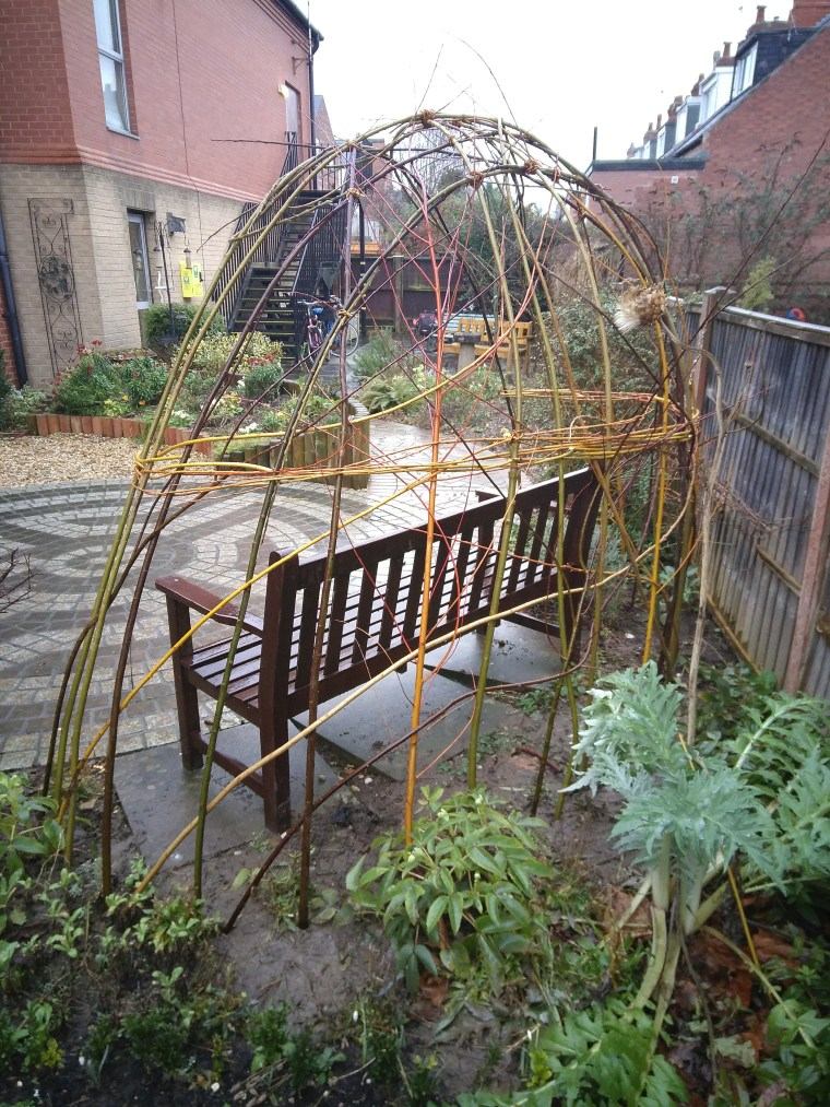 Willow arbour