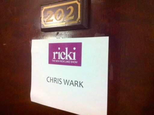 Chris Wark Ricki Lake