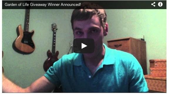 Garden of Life Giveaway Winner Announced!