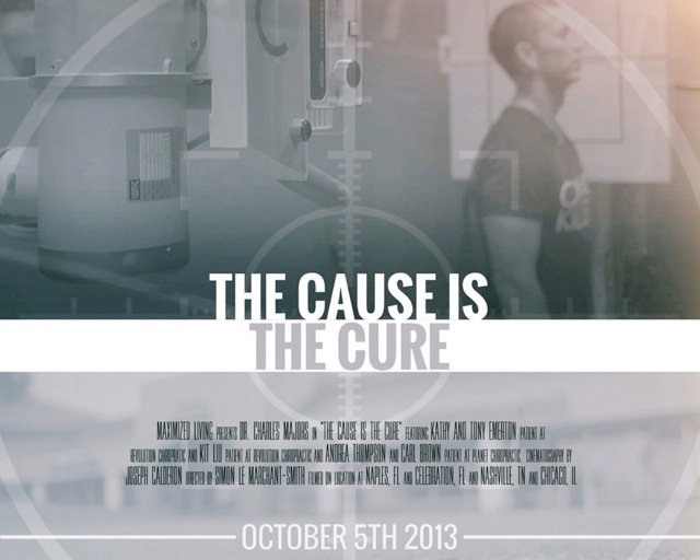 Watch The Cause is the Cure on October 5th