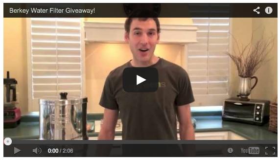 Big Berkey Water Filter Giveaway!