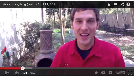 Q&A: Ask me anything – April 11, 2014