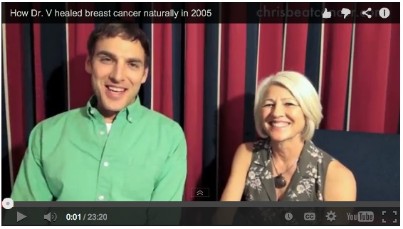 How Veronique healed breast cancer in 2005