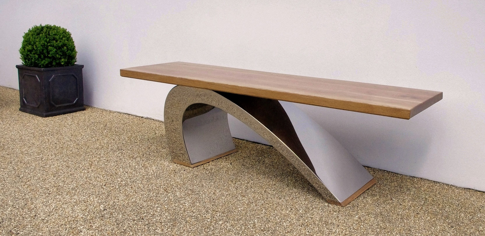 Modern Garden Bench Luxury Designer Garden Furniture