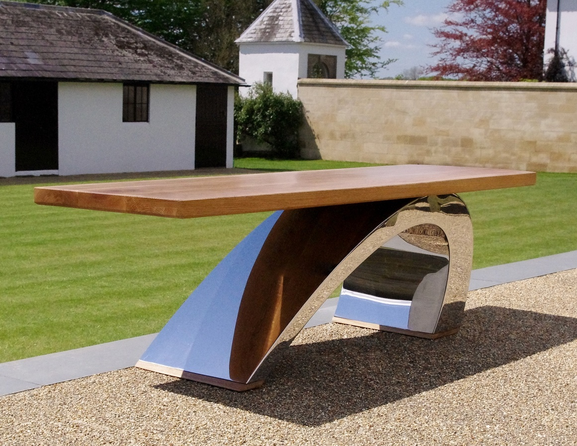Modern Garden Bench Contemporary Metal Furniture Chris Bose