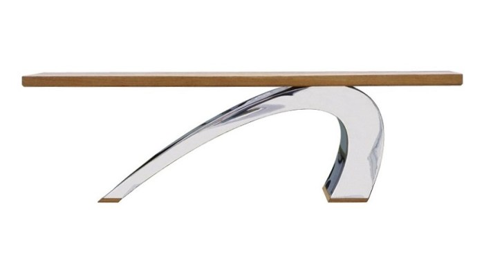 Designer coffee tables by Chris Bose. The Surf is our signature piece and certainly delivers the wow factor.