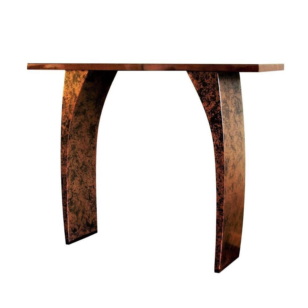 Designer console tables by Chris Bose. Contemporary bespoke handmade furniture made to order.