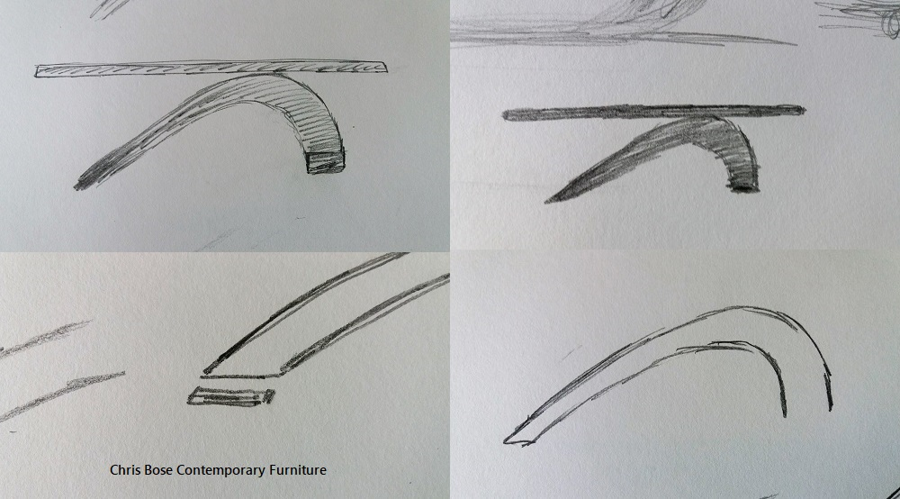 Surf Bench drawings