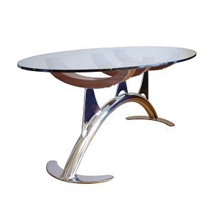 glass coffee table