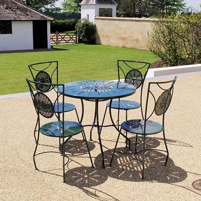 Contemporary garden furniture seating