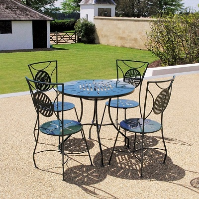 Contemporary garden furniture seating