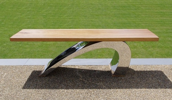 Modern garden bench luxury furniture