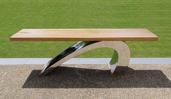 Modern garden bench luxury furniture