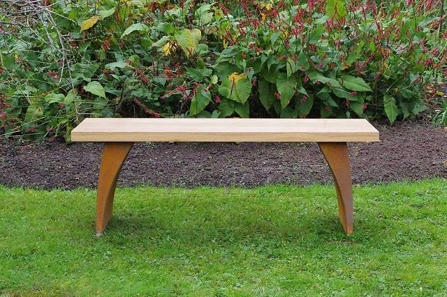 Urban garden bench seating