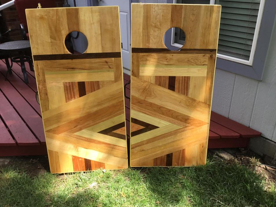 Corn Hole Boards Pair
