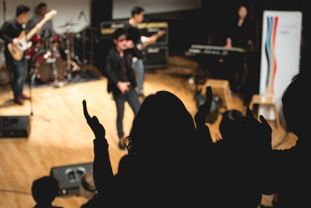 Audience at Tongyeong International Music Festival, 2014.