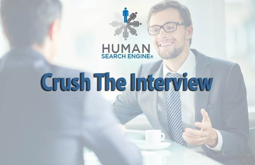 Chris Czarnik Crush the Interview Course