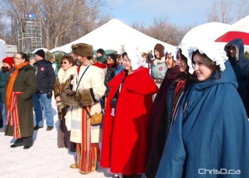 Festival du Voyageur Crowd