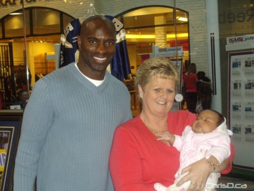Milt Stegall, Karen and Jaida