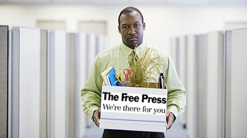 Laid Off Worker - Winnipeg Free Press