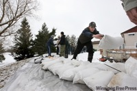 Manitoba Flood Sandbagging