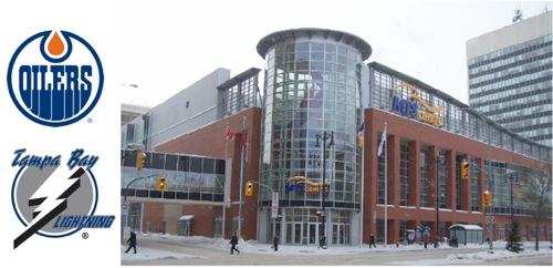 Edmonton Oilers - Tampa Bay Lightning - MTS Centre