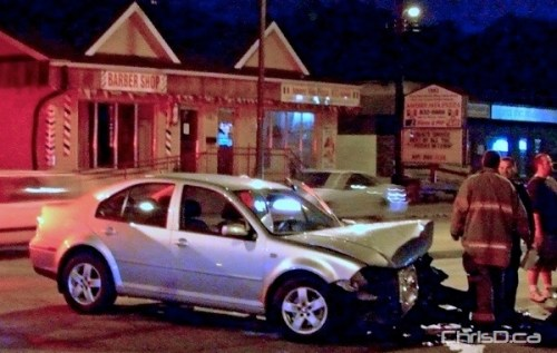 Collegiate Avenue - Ness Avenue Accident