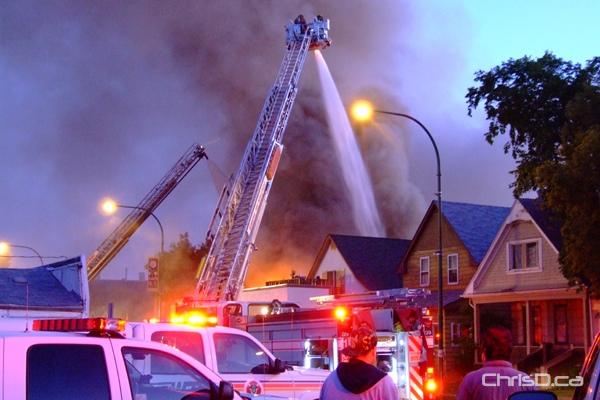 Selkirk Avenue Fire