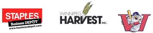 Staples - Winnipeg Harvest - Winnipeg Goldeyes