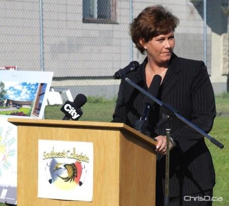 Health Minister Theresa Oswald