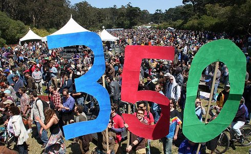350 Climate Action Rally