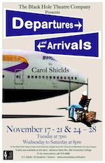Departures and Arrivals Play - Black Hole Theatre Company