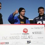 Ian Logan - Ace Burpee - United Way - Twitter Cheque