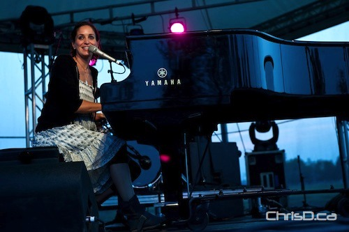 Chantal Kreviazuk (TED GRANT / CHRISD.CA FILE)