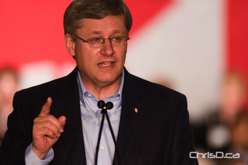 Prime Minister Stephen Harper (DAVID LIPNOWSKI / CHRISD.CA FILE)