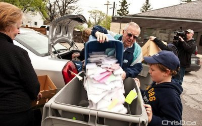 Winnipeg Credit Union Shredding Personal Documents