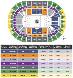 Seating chart and ticket prices for the new NHL team in Winnipeg. (DRIVETO13.COM)